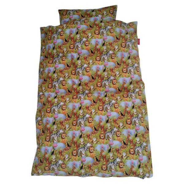 Junior sengetøj – Lyserød ko