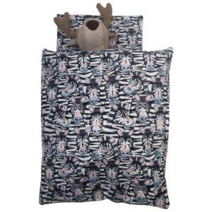 Dukke sengetøj - Zebra
