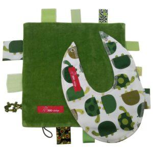 Sanseklud & Savlesmæk - Skildpadder - grøn