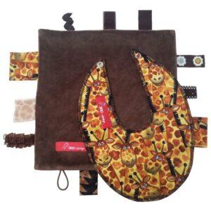 Sanseklud & Savlesmæk - Giraf - brun