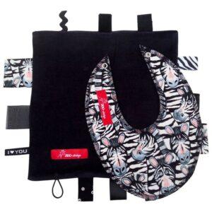 Sanseklud & Savlesmæk - Zebra - sort