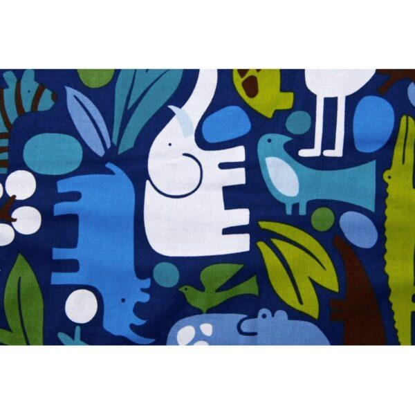 Baby sengetøj - Blå ZOO