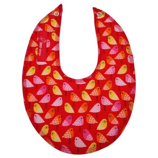 savlesmæk – Små fugle  – rød