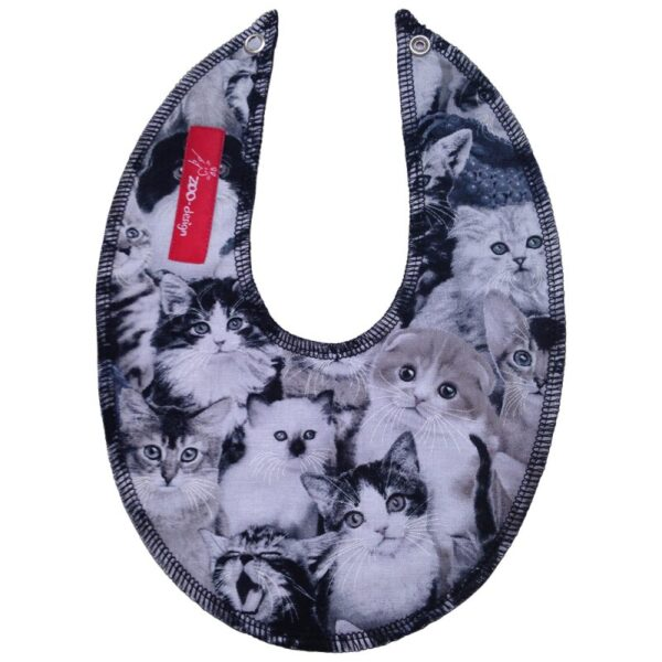 Savlesmæk - katte sort / hvid