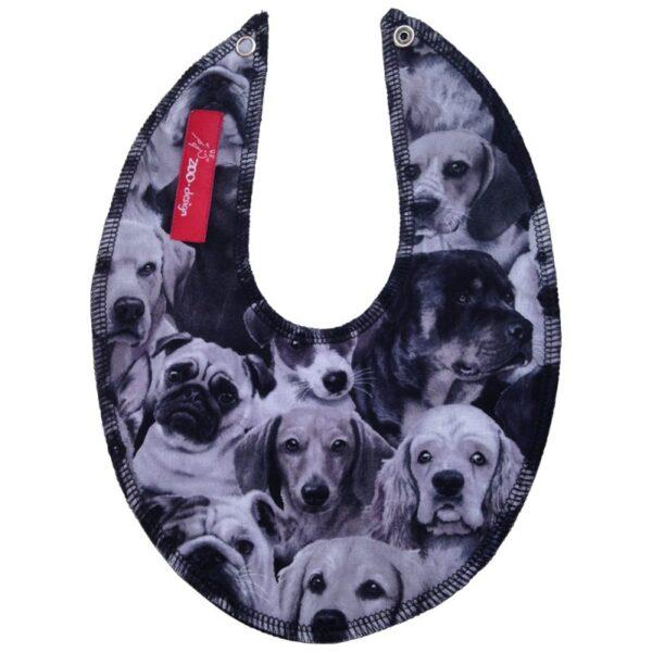 Savlesmæk - Hunde sort / hvid