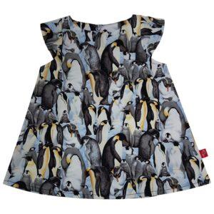 Kjole - Pingvin - Sort