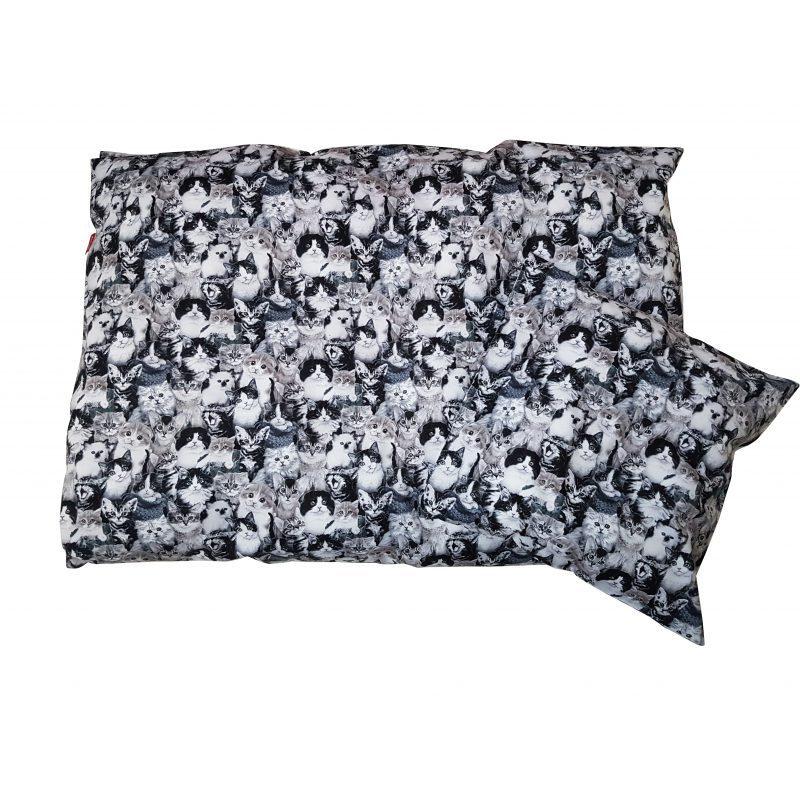 05c224cdfbf Junior sengetøj - sort/hvid katte | ZOO-Design