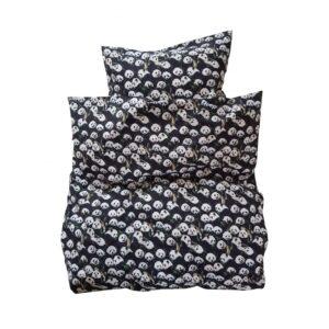 Baby sengetøj - Panda - sort