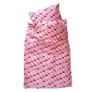Baby sengetøj - Flamengo - Pink