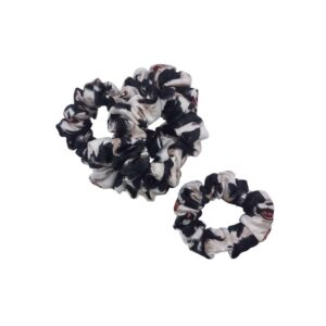 Scrunchie – hårelastik – Border Collie – Sort