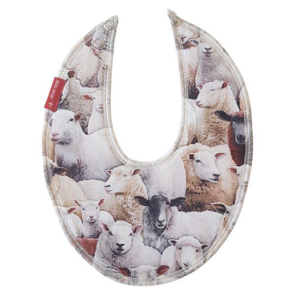 Bib for drool – Sheep _ ZOO-design
