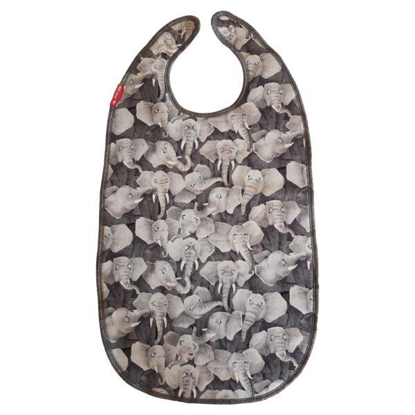 Bib for eating – Elephants – ZOO-design